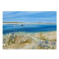Tresco - Out of the Blue | Art Print | Gail Morris
